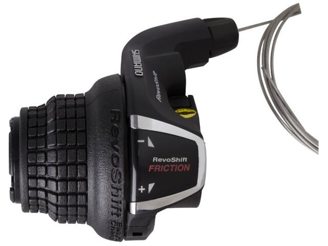 Shimano Tourney SL-RS35 Gearhåndtag Venstre 3-speed klemme inkl. kabel sort (2019) | Gear levers